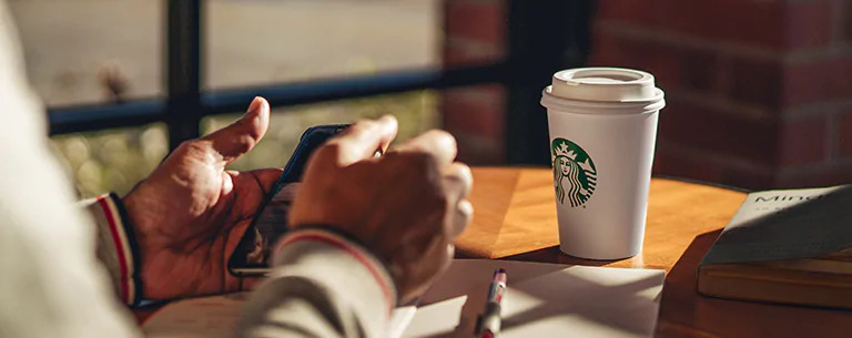 Order food online from Starbucks